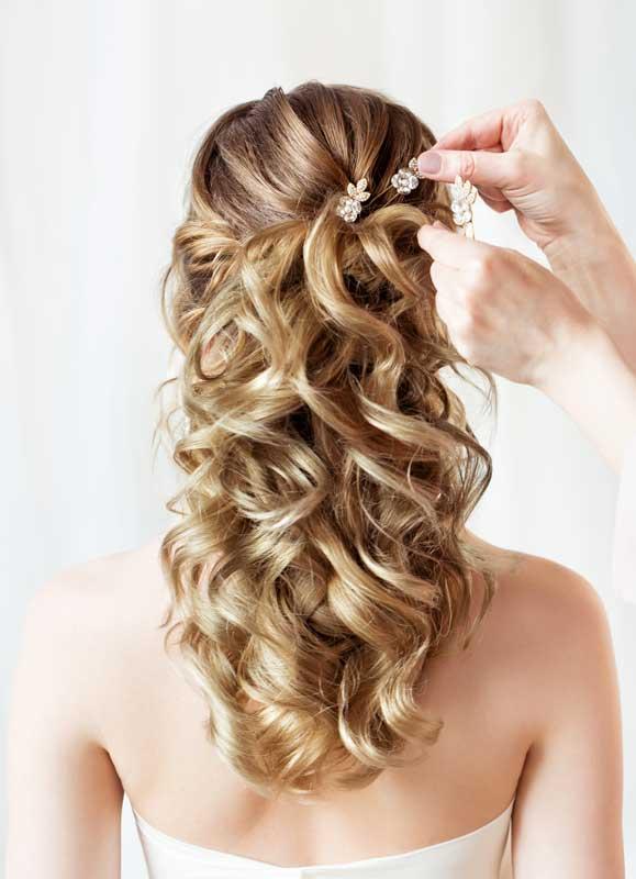 in salon wedding services
