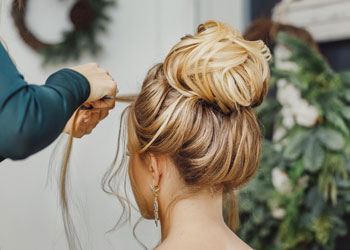 wedding hair and makeup service
