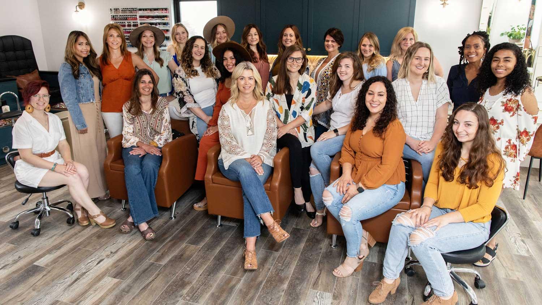 Staff at Uptown Salon Spa